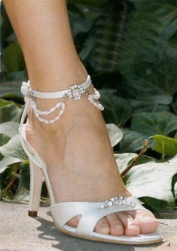 new wedding shoes gallery, elegant bridal shoes